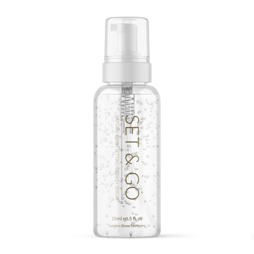 Set & Go Brow and Lash Growth and Setting Serum