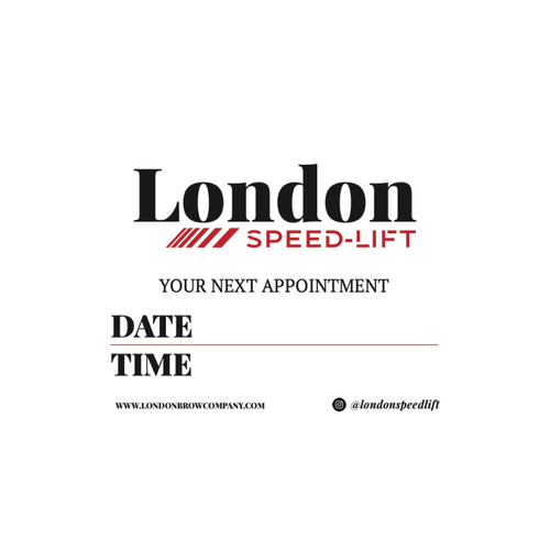Client Appointment Cards and Aftercare Cards x 50 - Speedlift