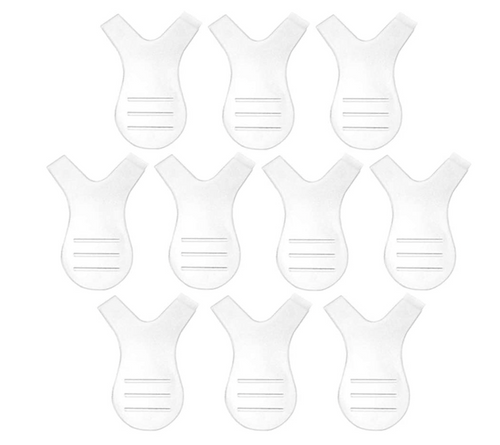 Y Shape Lash Lifting Tool and Comb - 10 Pack