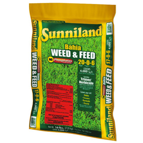 Bahia Weed & Feed 20-0-06 20 lb Bag