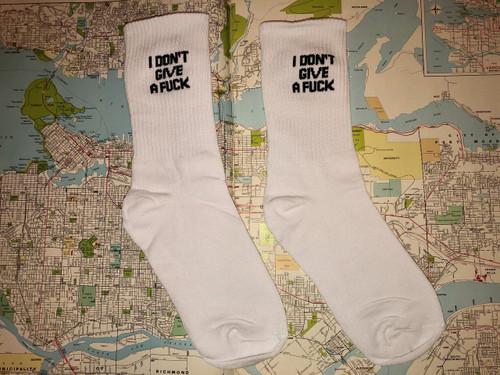 IDGAF Socks