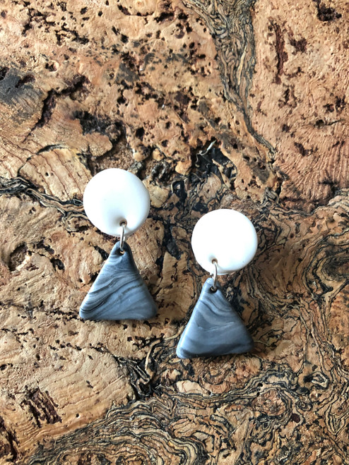 Moon + Mountain Earrings