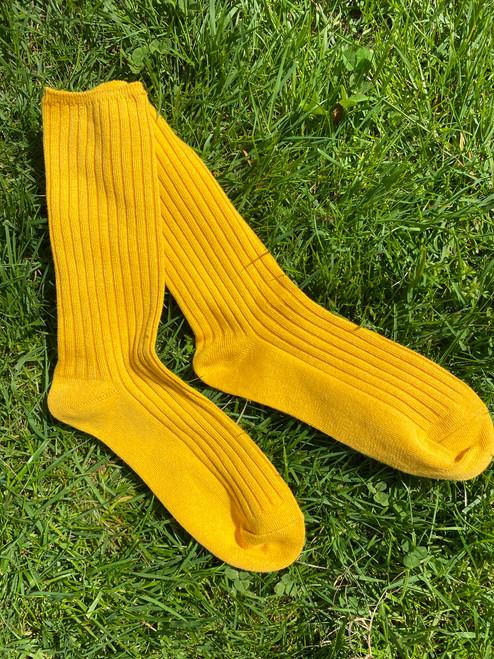 Sunflower Basic Ribbed Socks