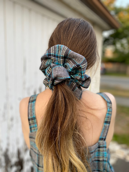 Plaid Flannel Scrunchie #2