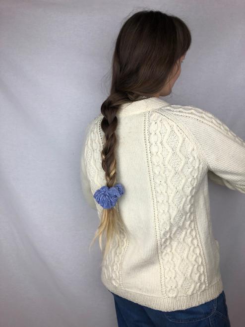Lavender Corduroy Scrunchie (S)