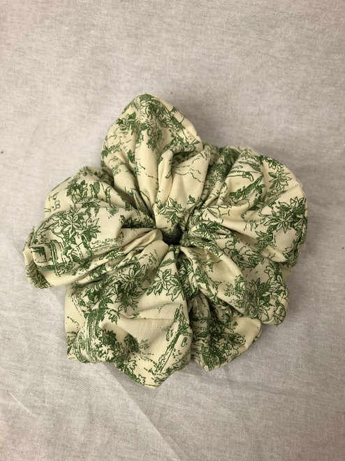 Cotton Toile Scrunchie (LRG)