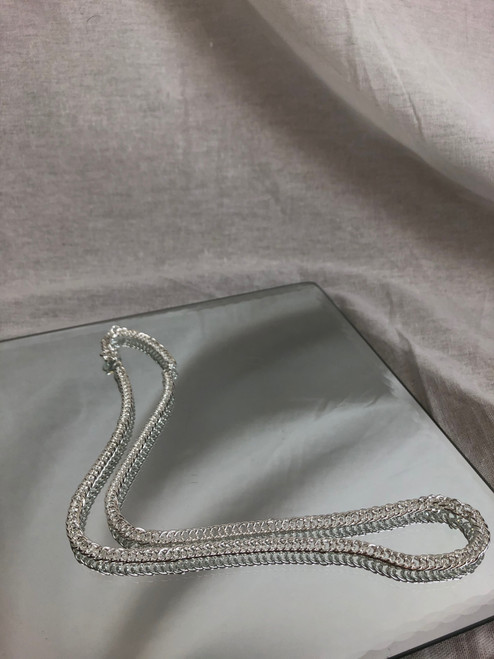 Sterling Silver Whip Chain (Medium)