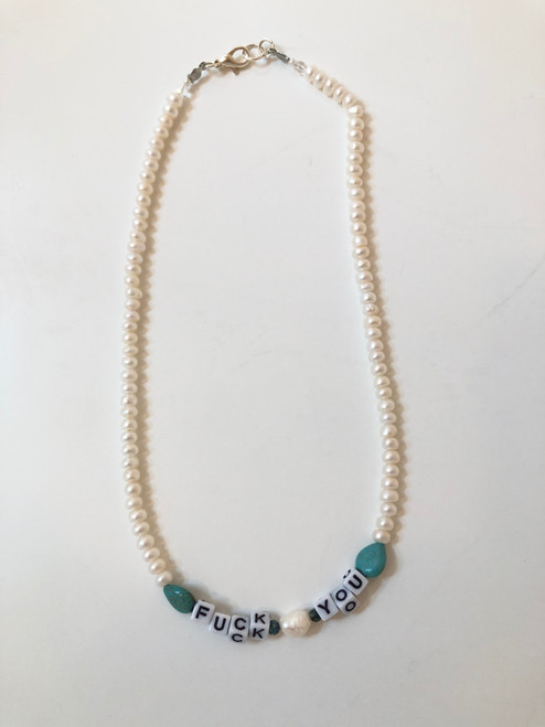Fuck You Necklace