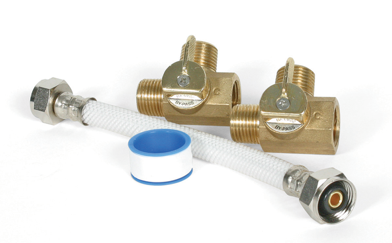 Camco Supreme Permanent By Pass Kit 8 12 Or 3 Way By Pass Valve Replacement 35953 35963 35983