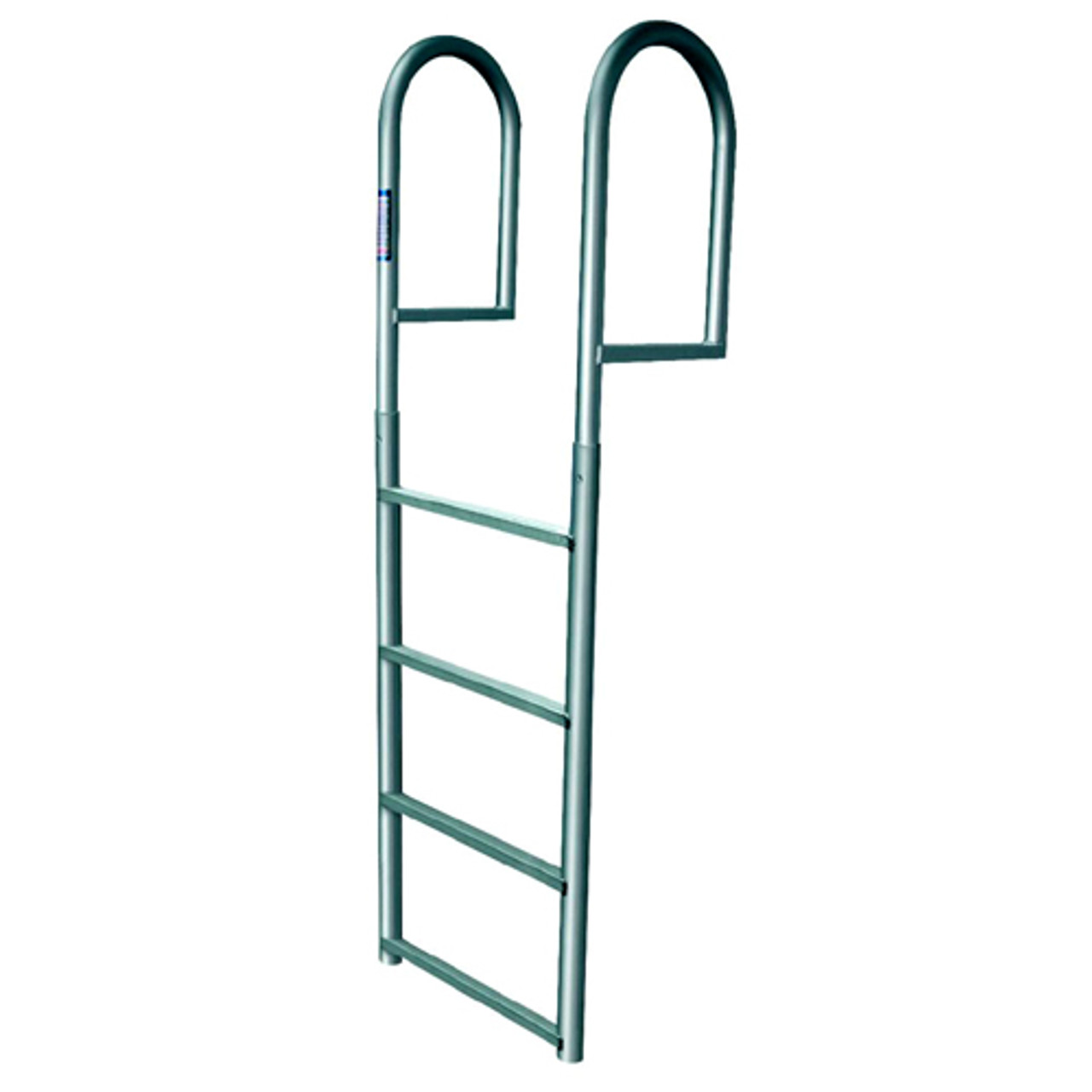 Jif Err4 Aluminum Folding Ladder W// Mount Hardware 4 Steps