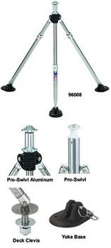"""Attwood Swivl-Eze Adjustable Height Ski Pylon - 36""""-53"""" SP-96009"""