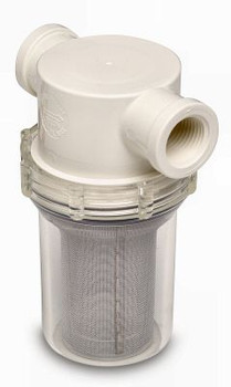 """SHURflo 3/4"""" Raw Water Strainer, with or without Bracket and Fittings  253-220-01  253-221-01"""