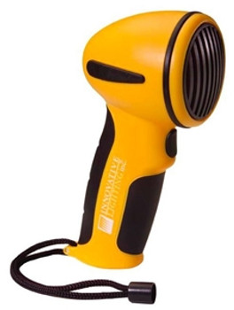 Innovative Lighting 545-5010-7 Marine Hand Held Electric Horn with Mounting Clip--Blue Case