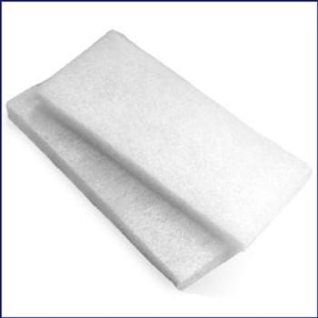 Swobbit SW55220 White Fine Scrub Pads - 2 pack
