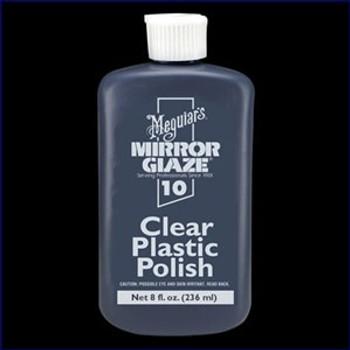 Meguiars M-1008 Clear Plastic Polish 8 oz