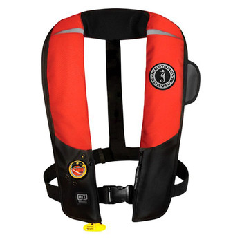 Mustang Deluxe Automatic Inflatable Vest PFD with HIT (hydrostatic activation) MD3183 02