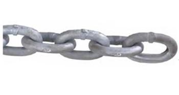 """Peerless Chain 5001-40631 3/8"""" Hot Galvanized G4 High Test Windlass Chain"""