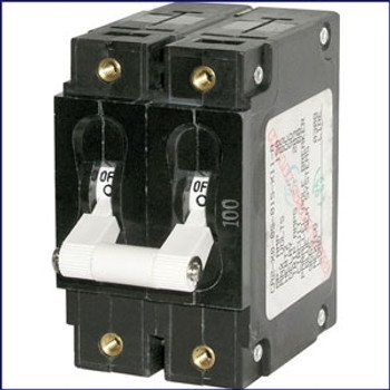 Blue Sea Systems 7287 Triple Pole Breaker 50A AC 2.5 in