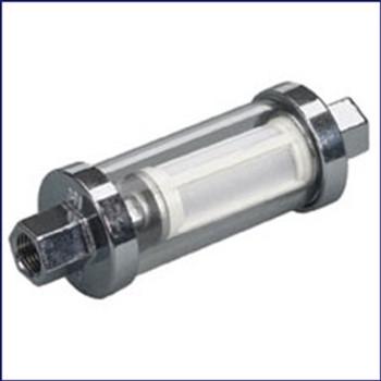 Moeller 033319-10 Universal Inline Glass View Fuel Filter