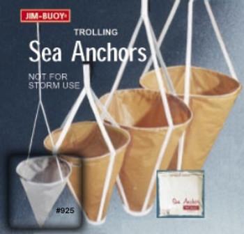 Jim Buoy Trolling Sea Anchor Drogue Chute (10in.)