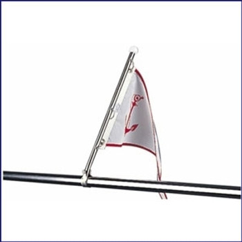 Sea Dog 328115-1 Stainless Pulpit Flagpole 15.5 in
