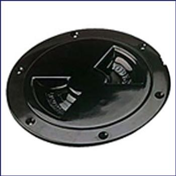Sea Dog 337155-1 ABS Black Standard Deck Plate 5 in.
