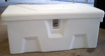 "RomoTech 32""x15""x14"" Small Dock Box White (Toolbox)  82121799"