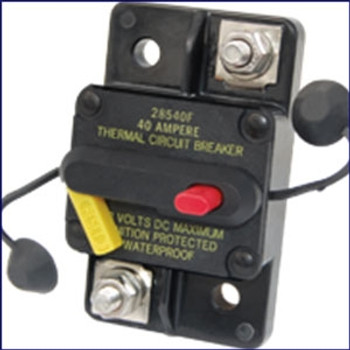Blue Sea Systems 285 Series Hi-Amp Circuit Breaker - Surface Mount  7182 7183 7184 7185 7186