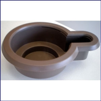 Insulated Drink Holder Brown