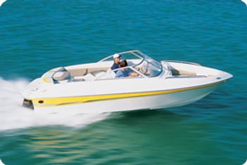"Taylor Made V-Hull Runabout I/O Semi-Custom Boat Cover (Gray) 20'5"" - 21'4"" x 102""W"