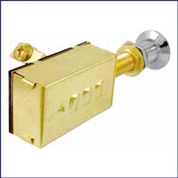 Attwood 7594-3 Push-Pull Switch 3 Pos