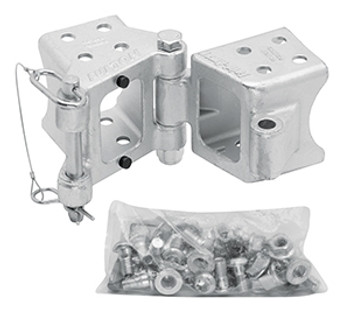 Cequent HDPB340101 3 in x 4 in Bolt On Hinge Kit