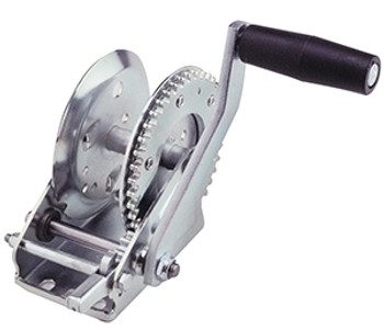 Cequent T11000101 1100 lb. Single Speed Winch