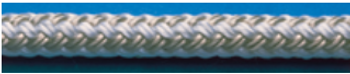"Unicord White Double Braid Nylon Line 3/4""x600'"
