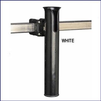 Sea Dog 327166-1 Square Rail Mount Rod Holder White