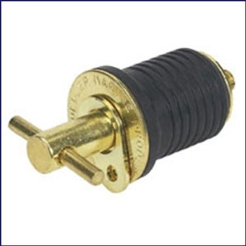 Moeller 020899-10 Brass Turn-tite Bailer Plug 1 in.
