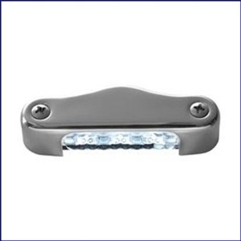 Attwood 6344SS1 3 inch LED Transom Light Oval