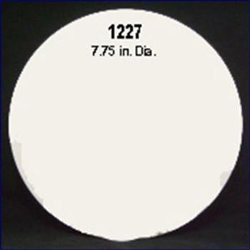 Plasform 1227 7.75 in. Cover Plate - White