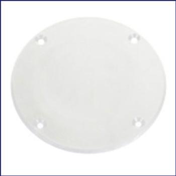 Plasform 896 4 in. Cover Plate - White