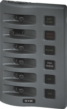 Blue Sea Systems Weather Deck Panel Gray 4305 4307