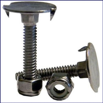 Stainless Steel Deck Bolts - 25/pack