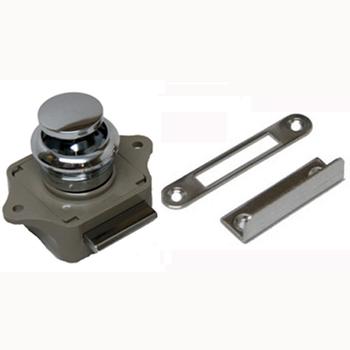 Sea Dog Polished Chrome Plastic Push Button Latch  224312-1