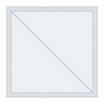 "Tri Vantage 030 Eisenglass Clear Color Dbl clr 54""W x 1'   972035"
