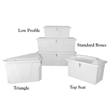 Taylor Made  Stow N' Go Triangle Dock Box 83561