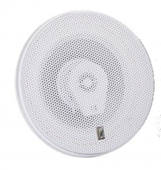 "Poly-Planar MA8505-W Titanium Series 5"" 3 Way Speakers White"