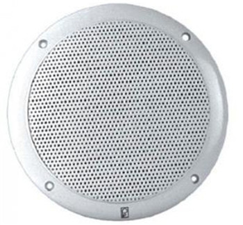 "Poly-Planar MA4055-W Performance Series 5"" Coaxial Speakers White"
