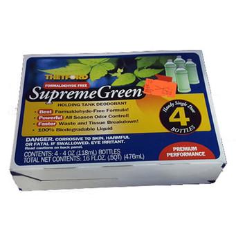 Thetford 36665 SupremeGreen 4 - 4 oz. bottles