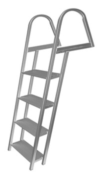 JIF Marine ASH 4-Step Angled Dock Ladder ASH