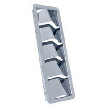 Whitecap Stainless Steel 5-Louver Vent