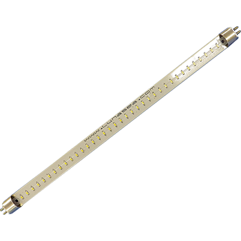 "Lunasea F8T5 12"" LED Fluorescent Tube Replacement, 6"" Flying Leads LLB-05WD-81-00"